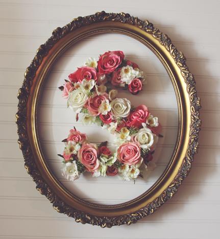 flower letter 2